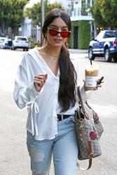 Vanessa Hudgens - Shopping in West Hollywood 5/15/17