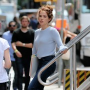 Zoey Deutch -                       ''Set It Up'' Set New York City May 16th 2017.