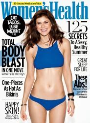 Alexandra Daddario - Women's Health Magazine June 2017