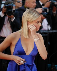 Hailey Baldwin - 70th Annual Cannes Film Festival Opening Ceremony 5/17/17