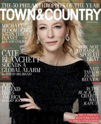Cate Blanchett -                    Town & Country Magazine June/July 2017 Max Vadukul Photos.
