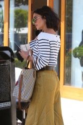 Vanessa Hudgens - Leaving Nine Zero One Salon in West Hollywood 5/16/17
