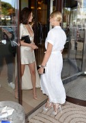 Bella Hadid & Hailey Baldwin - Hanging out in Cannes, France 5/17/17