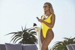 Khloe Kardashian - Protein World Summer 2017 Campaign Shoot