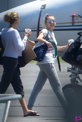 Miley Cyrus - At Teterboro Airport in New Jersey 5/18/17