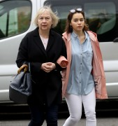 Emilia Clarke -                  London May 18th 2017 With Mum.