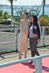 Lily Collins -  'Okja' Photocall during the 70th Cannes Film Festival 5/19/17