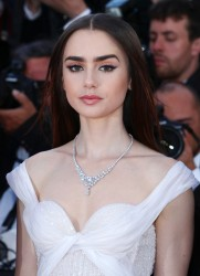 Lily Collins - 'Okja' Premiere during the 70th Cannes Film Festival 5/19/17