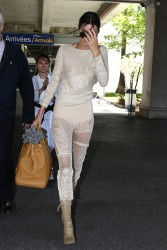 Kendall Jenner - Arriving in Nice, France 5/19/17