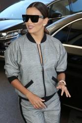 Eva Longoria - Arriving at the Martinez Hotel in Cannes 5/19/17