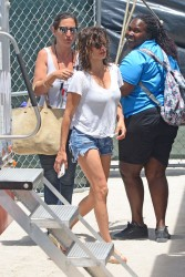 "Penelope Cruz -                 	""Versace: American Crime Story'' Set Miami May 18th 2017."