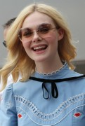 Elle Fanning - Out for lunch in Cannes 5/18/17