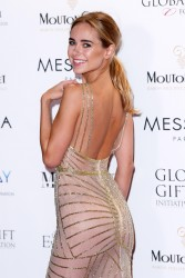 Kimberley Garner -                    	Global Gift Gala Cannes May 19th 2017.