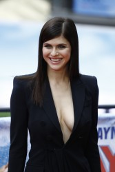 Alexandra Daddario at a Baywatch Photocall in Berlin - 5/30/17