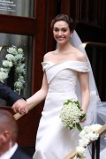 Emmy Rossum -                Wedding Central Synagogue New York City May 28th 2017.