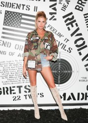 Charlotte McKinney - Revolve Launch: MadeWorn x Roc96 Capsule in LA 5/31/17