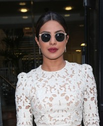 Priyanka Chopra - At AOL Studios in London 6/1/17