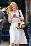 Elle Fanning - Having lunch in NYC 6/2/17