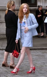 Ellie Bamber - Royal Academy of Arts Summer Exhibition VIP preview in London 6/7/17