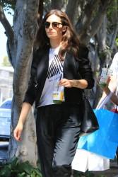 Emmy Rossum - Shopping in West Hollywood 6/29/17