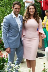 Kelly Brook - Hampton Cour Flower Show July 3 2017
