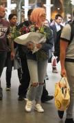 Pixie Lott - Arriving at Eurostar Station in London 7/4/17