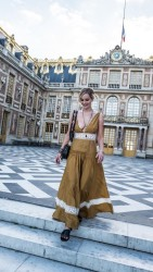 Jennifer Lawrence at the Chateau de Versailles in Versailles, France - 7/6/17