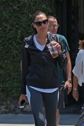 Gal Gadot - Getting coffee in West Hollywood 7/6/17