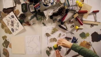 Цветная линогравюра и печать штампами (2016) Видеокурс